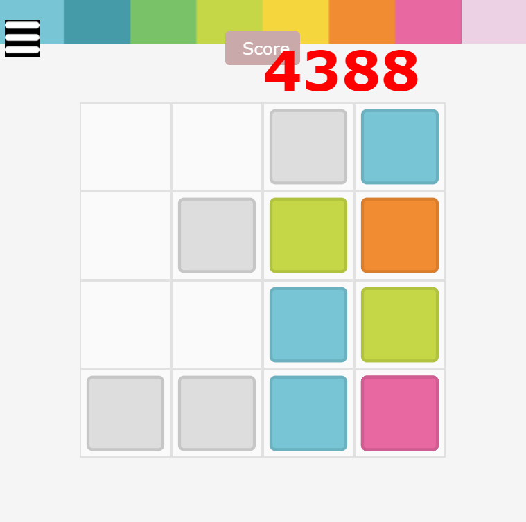 prism - 2048 game