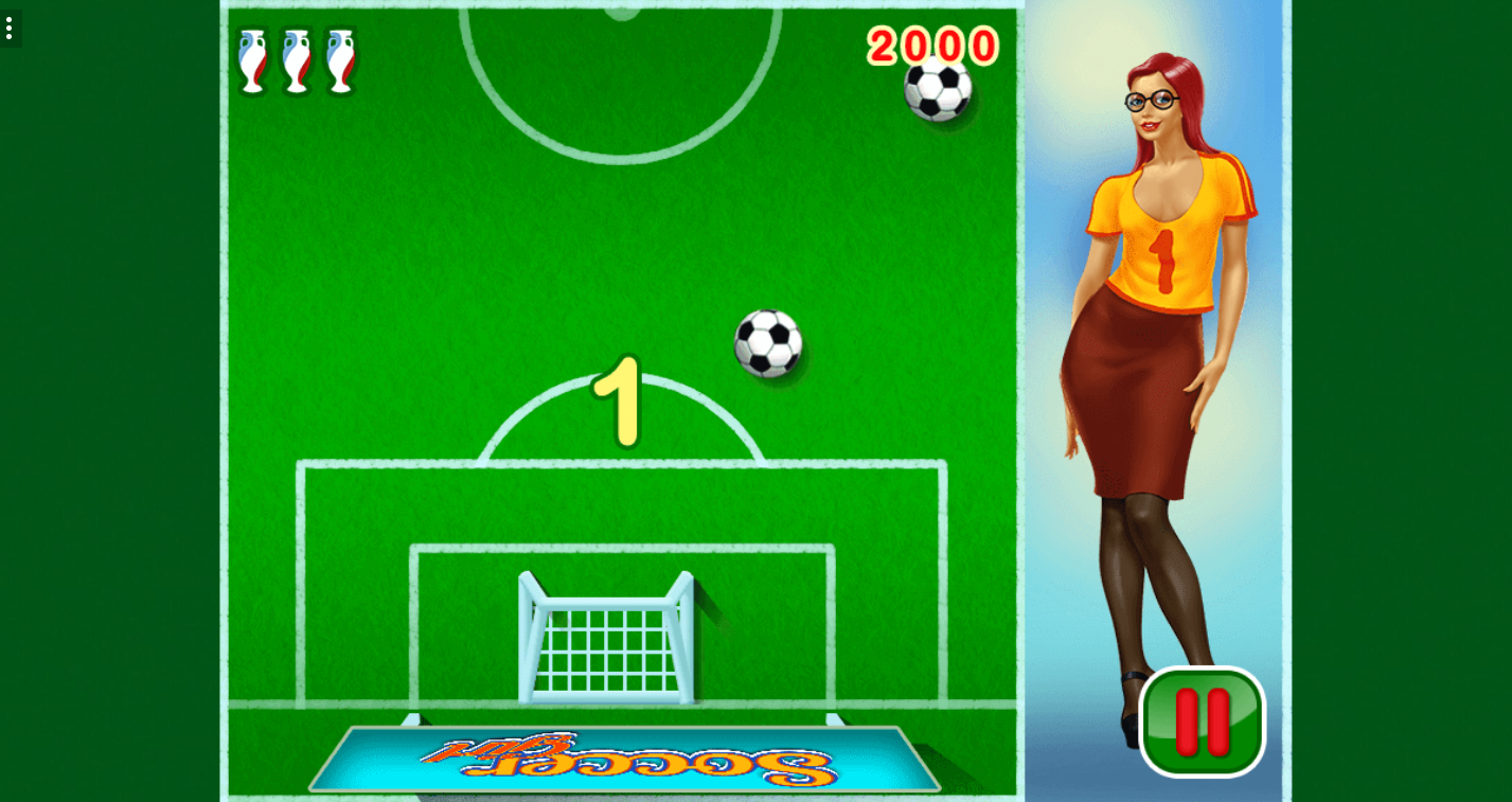 game Soccer girl