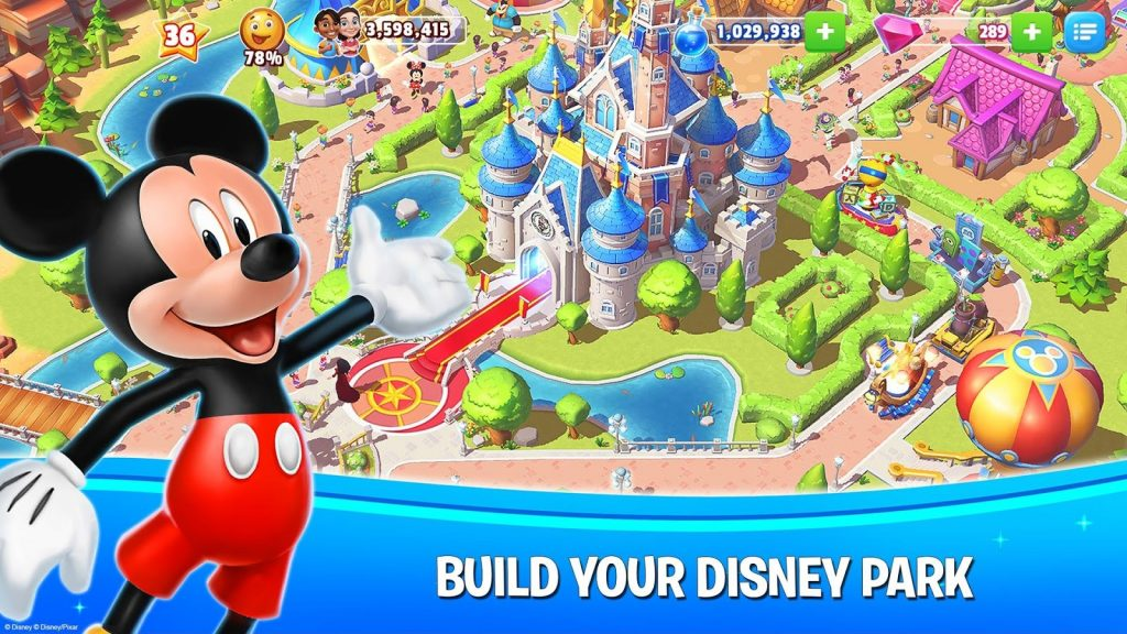 Disney magic kingdoms games