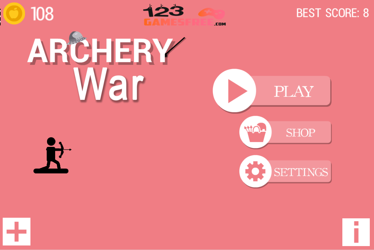Free archery battle game