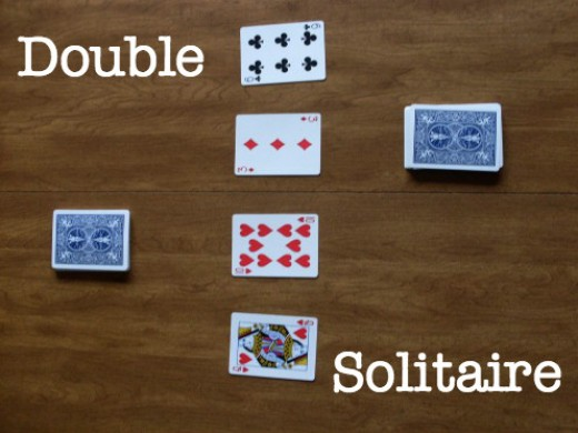 How to play games Double Solitaire