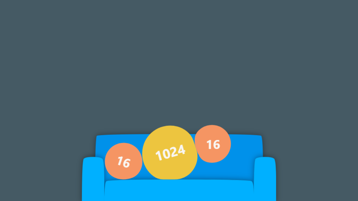game Couch 2048