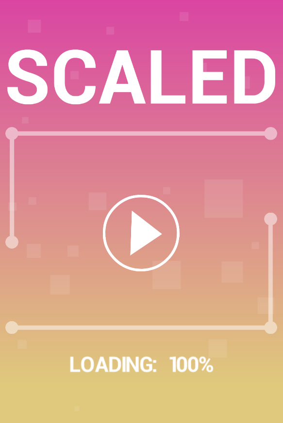 Scaled game