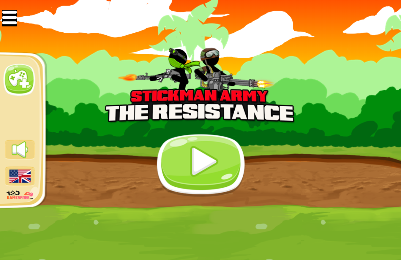 game Stickman army: resistance