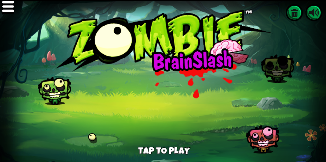 game Zombie brain slash