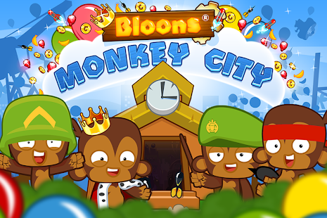 Games online bloons monkey city