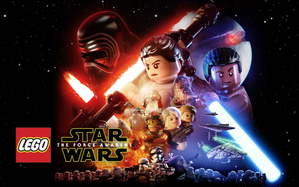 Lego game Star Wars TFA