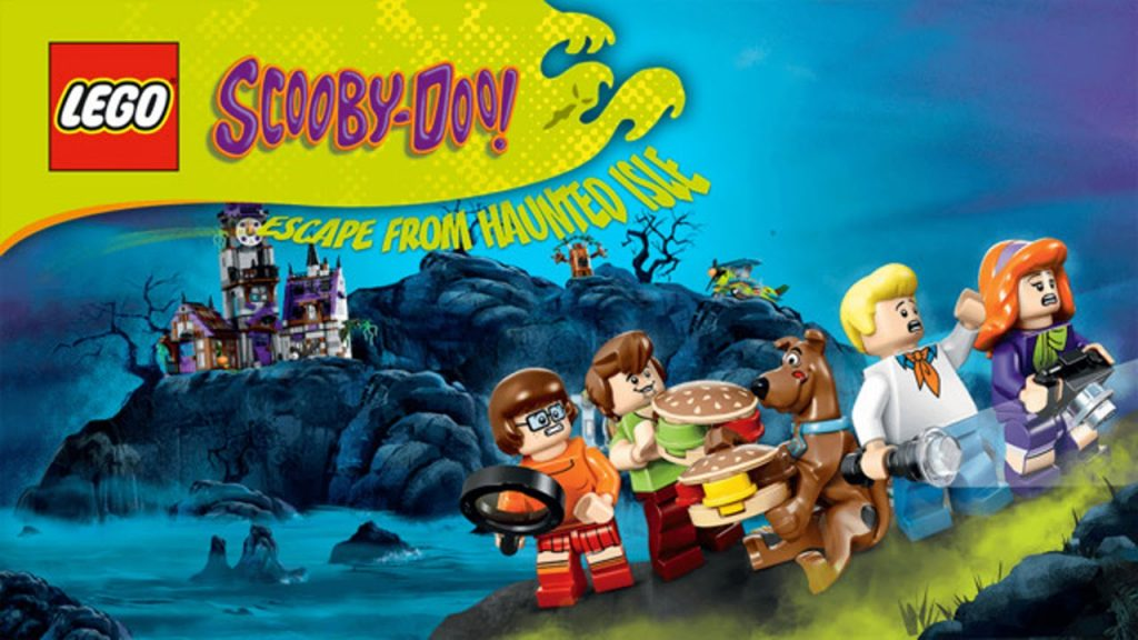 Lego games Scooby - Doo haunted isle