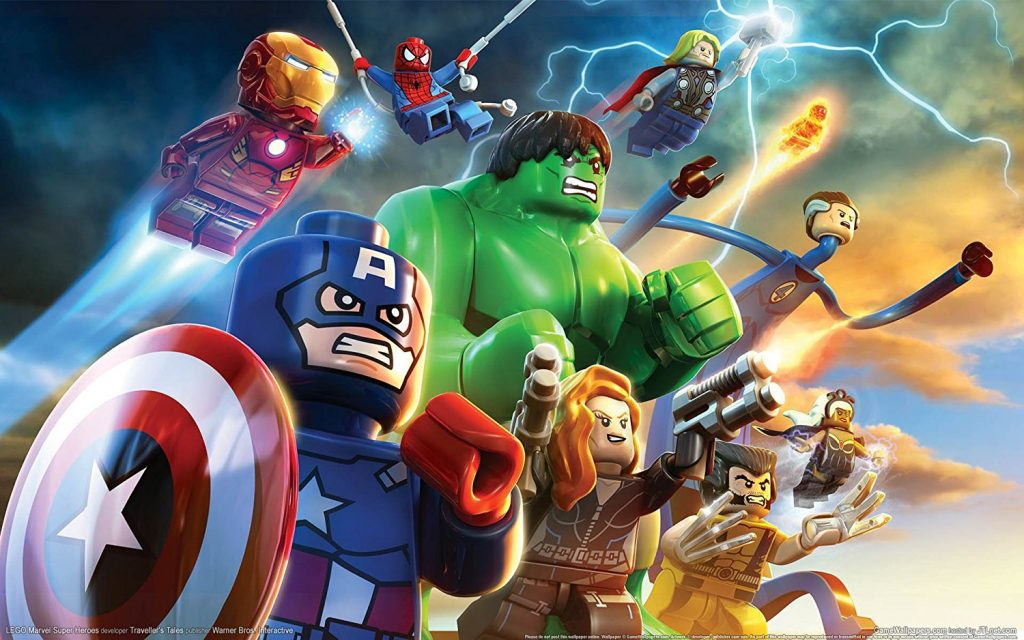 Lego games marvel super heroes