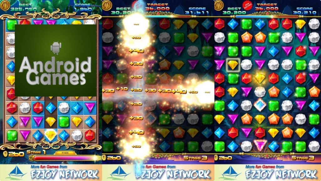 Play jewels maze games