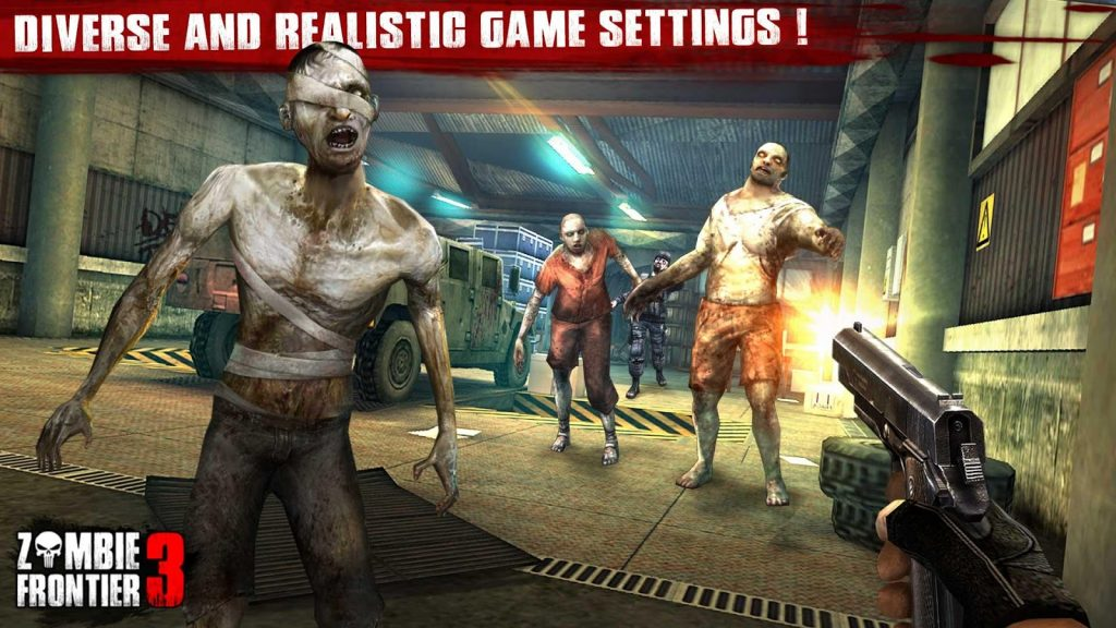 Play zombie frontier 2 games - Shoot target