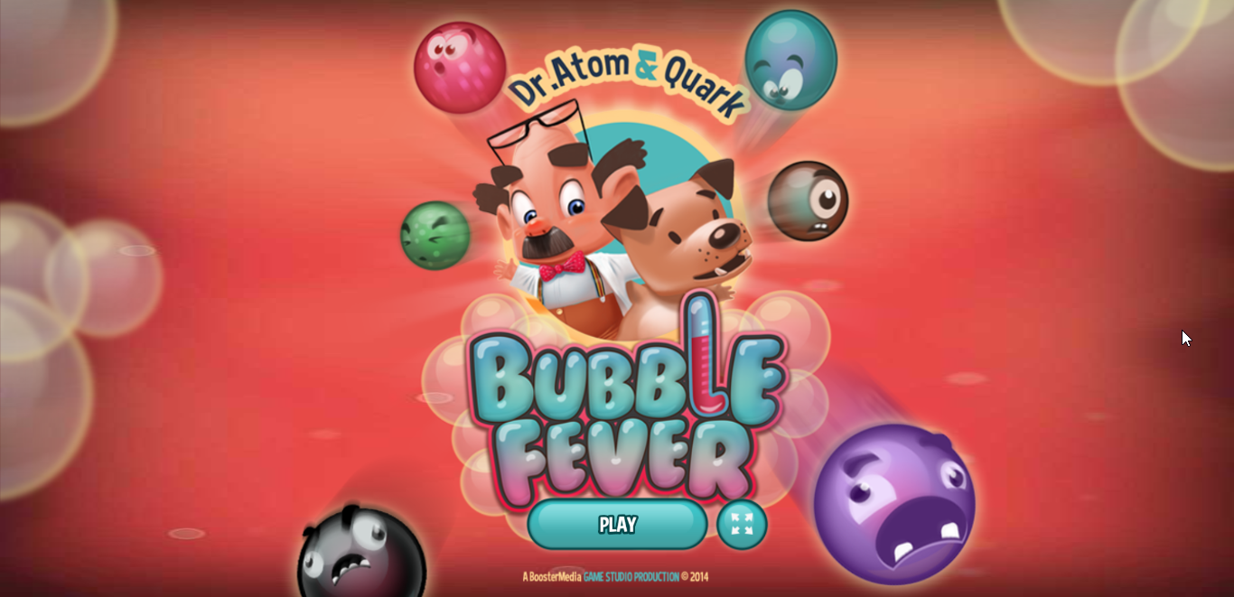 game Atom & Quark: Bubble Fever