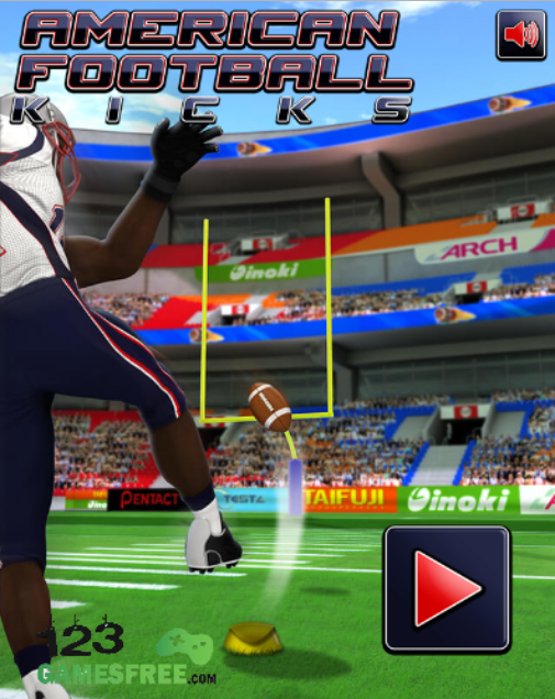game American football kicks