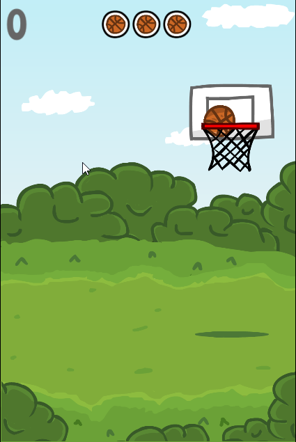 game Basketball shots
