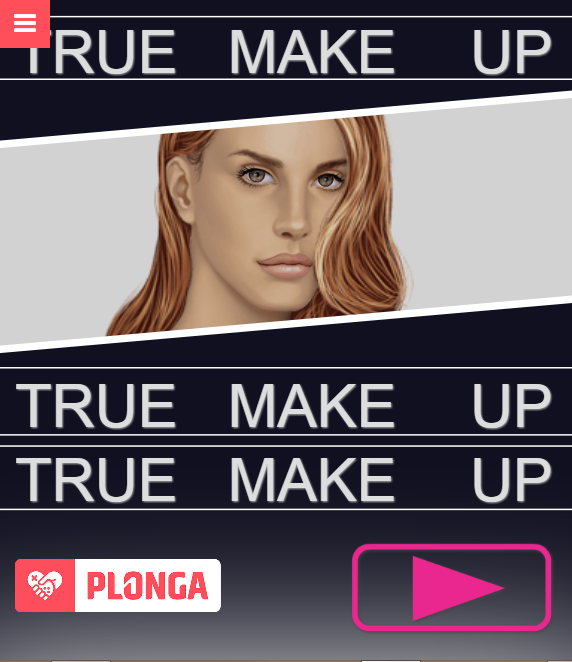 game Lana true make up