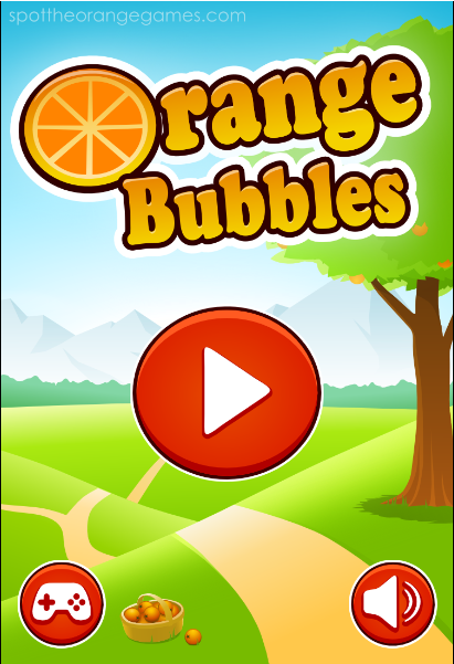 game orange bubble