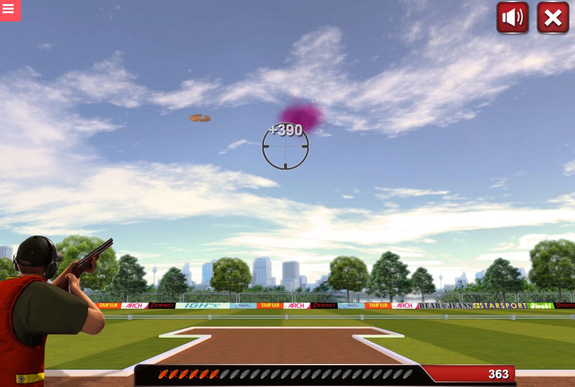 game Skeet shooting 3D