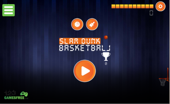basketball dunking games