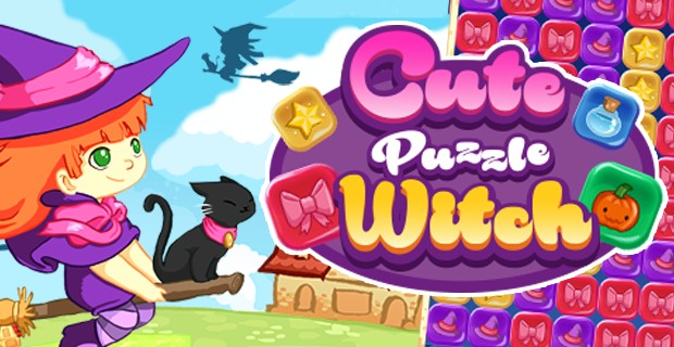 Cute-puzzle-witch