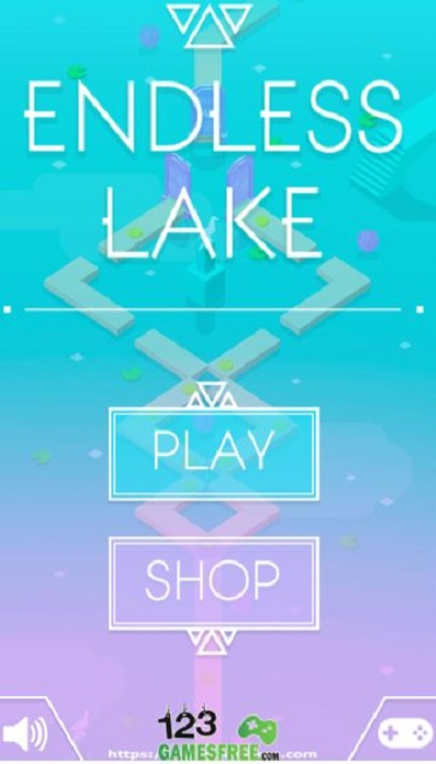 Endless Lake: Childish 3D game