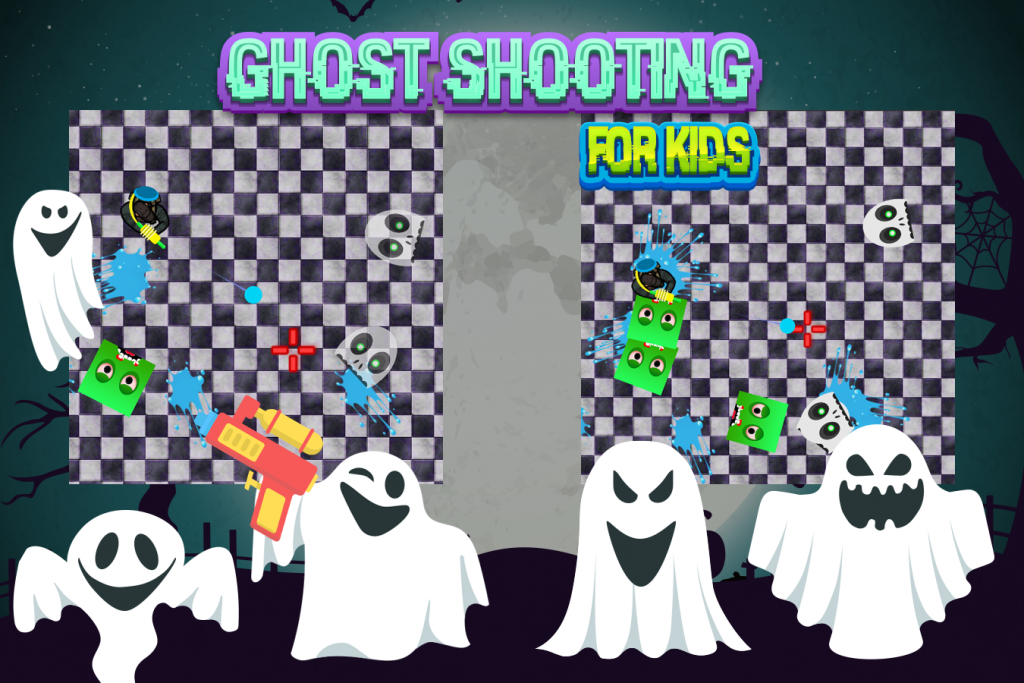 Ghost shooting games for kids