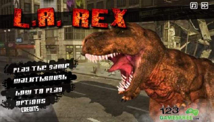 LA Rex action game
