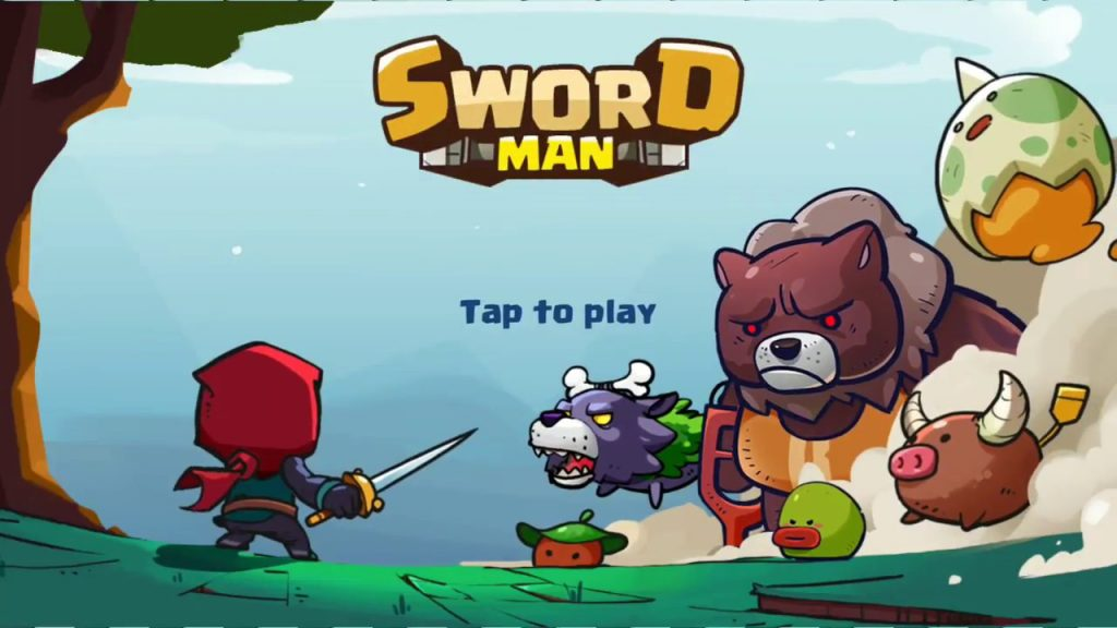 Sword man - Monster hunter games
