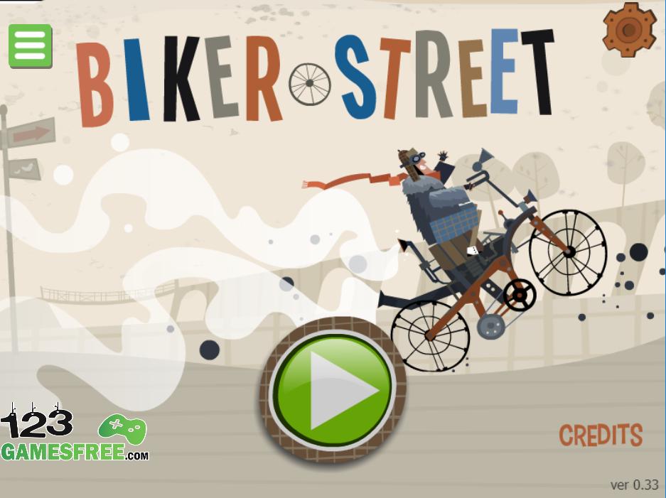 game biker street