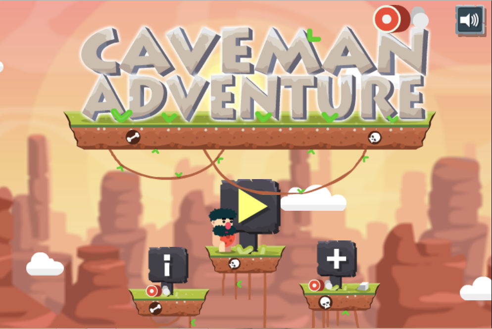 Game Caveman adventure