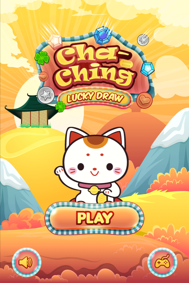 Play game Cha-ching lucky draw - Free online fun drawing games for kids