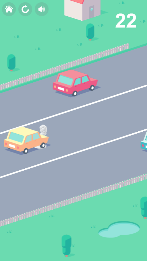 Game Cute road