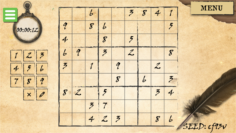 Game Sudoku Daily Puzzle