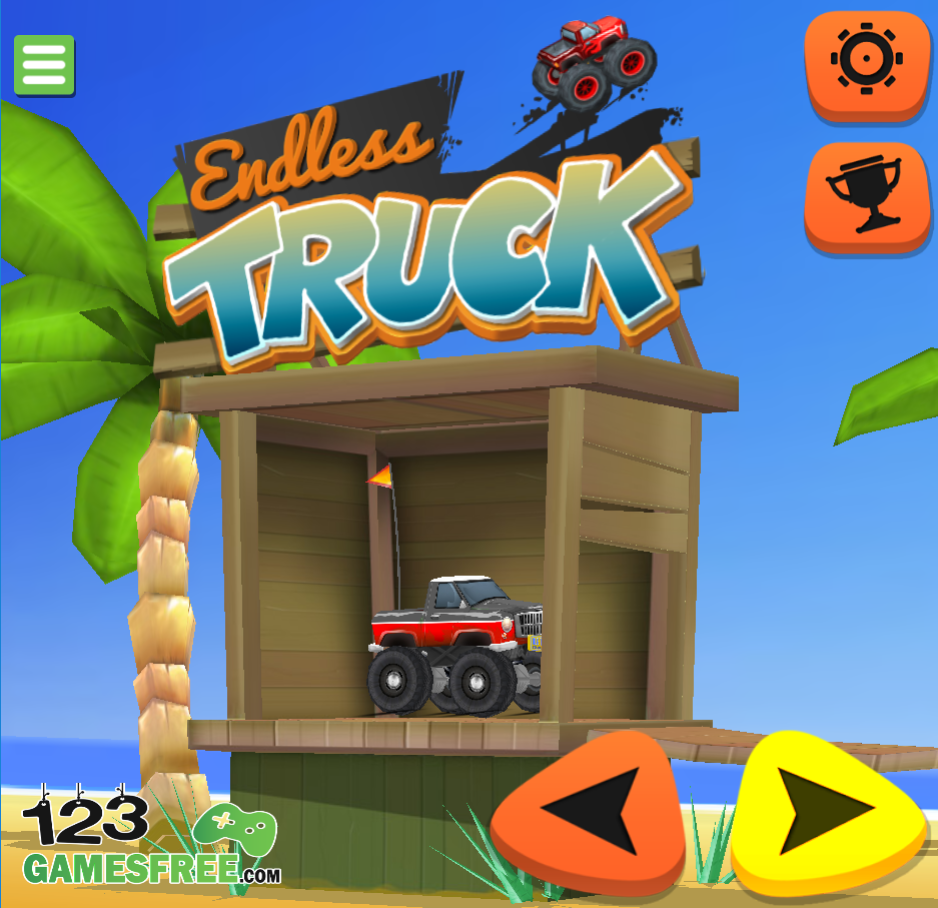 Endless truck game