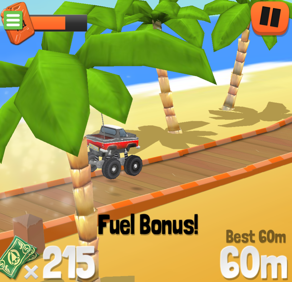 Game Endless Truck