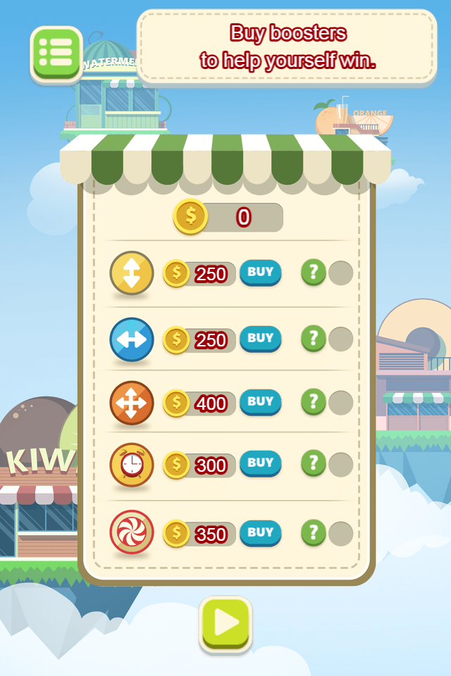 game Fruit candy shopgame Fruit candy shop