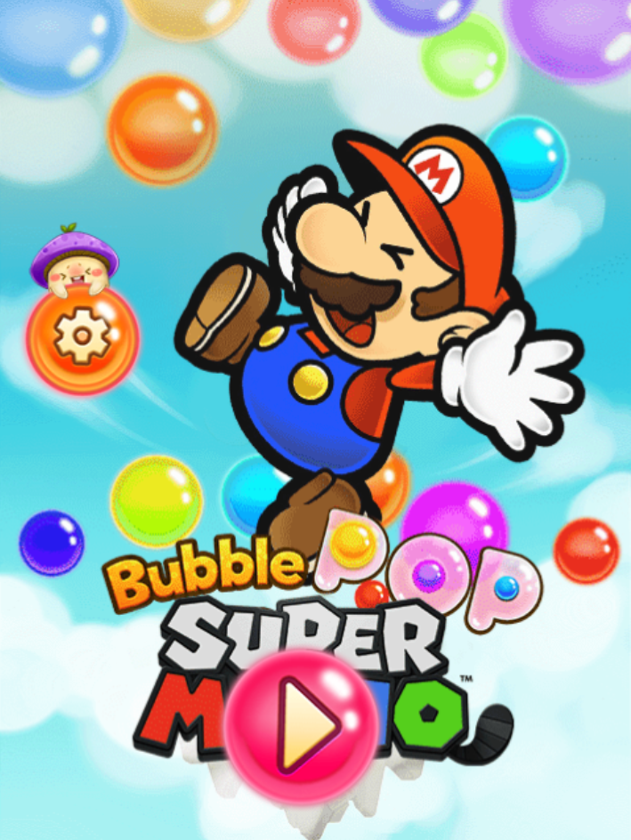 Game Mario bubble pop