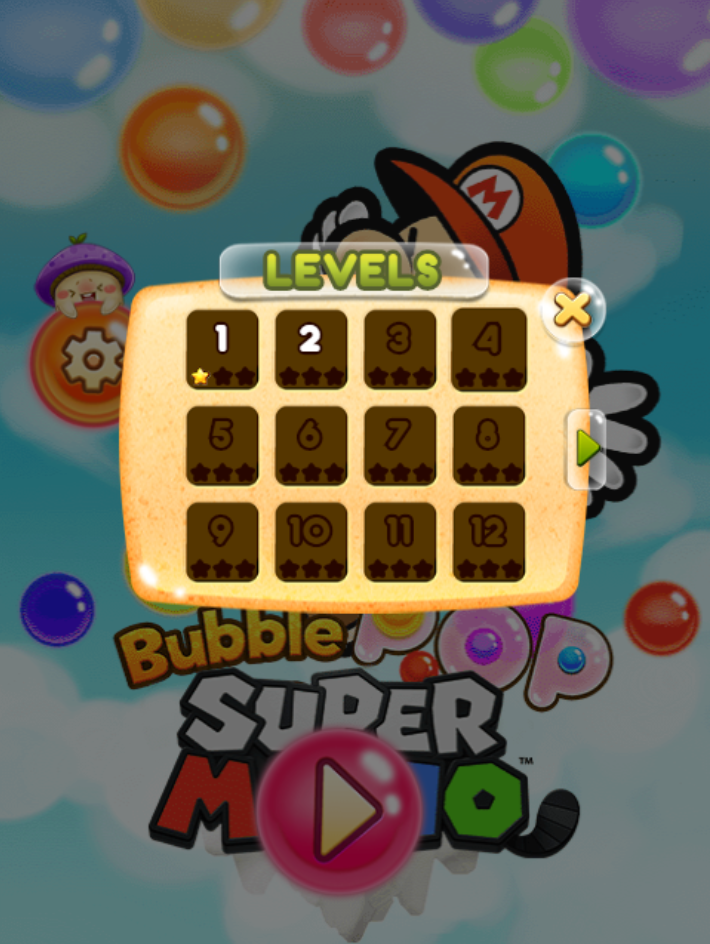 Bubble pop game online