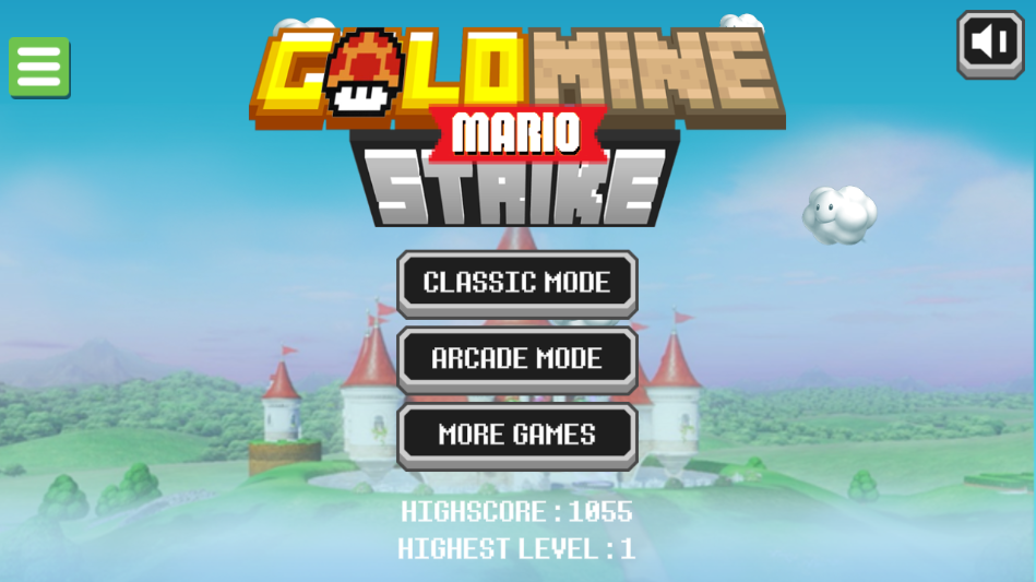Game Mario Gold Mine Strike