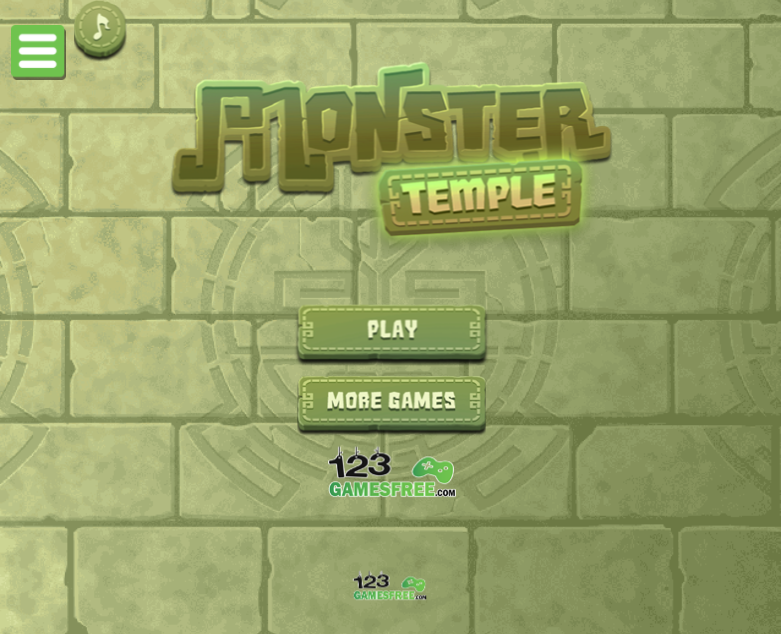Game Monster temple