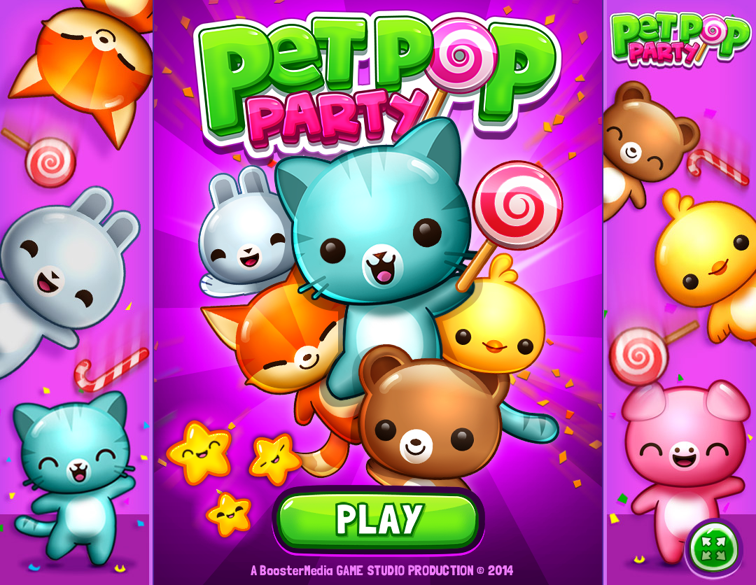 game pet pop party