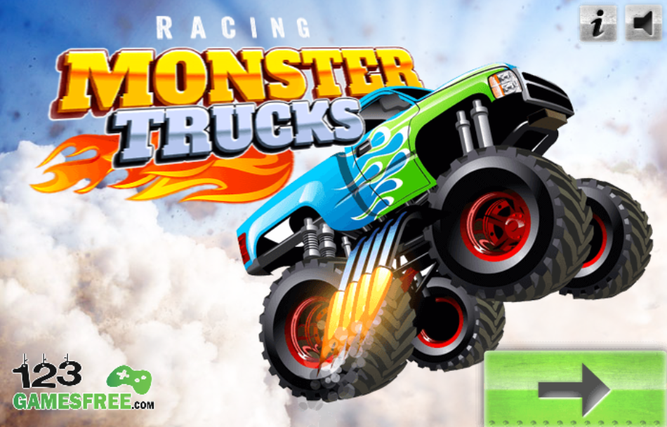 Monster truck driving games