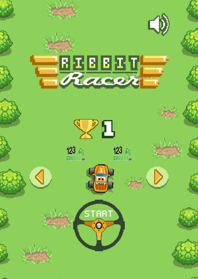 Game Rabbit racer
