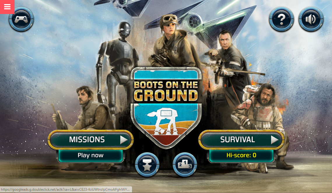 Game Rogue One: Boots on the Ground