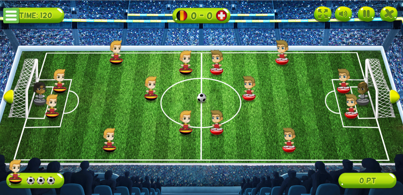 Game Soccer World Cup 2018