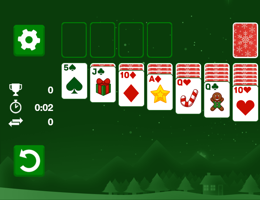 Game Solitaire Classic Christmas