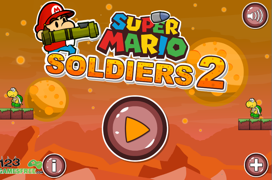 Game Super Mario Soldiers 2