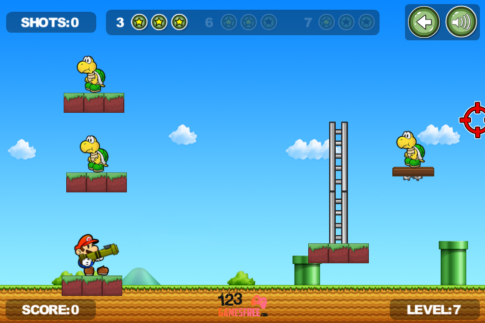 Game Super Mario Soldiers