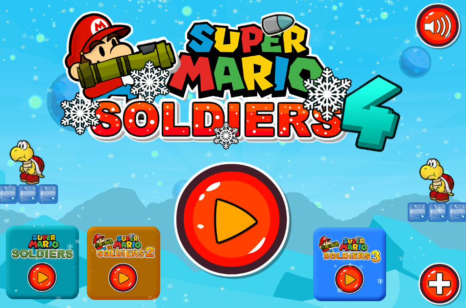 Game Super Mario Soldiers 4