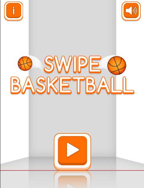 game Swipe basketball