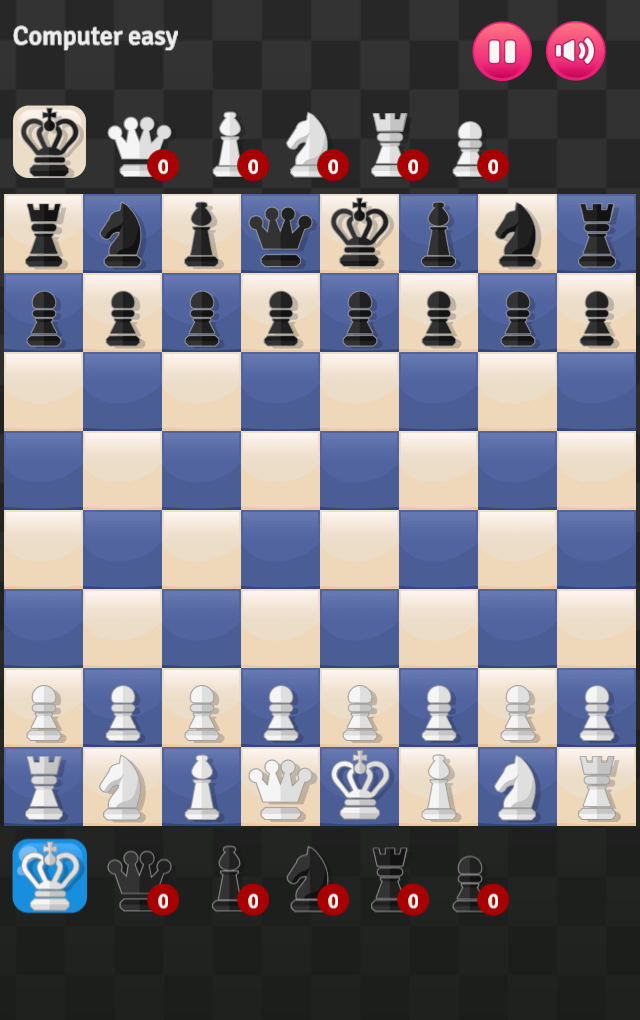 Game 2 player chess